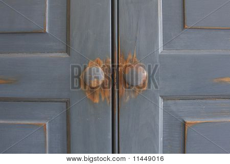 What is behind the doors