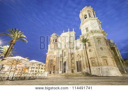 Cadiz Cathedral.