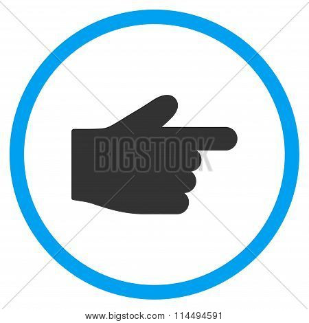Right Index Finger Icon