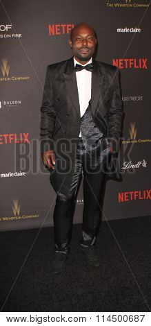 BEVERLY HILLS, CA - JAN. 10: Jimmy Jean Louis arrives at the Weinstein Company and Netflix 2016 Golden Globes After Party on Sunday, January 10, 2016 at the Beverly Hilton Hotel in Beverly Hills, CA.