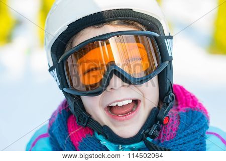 Ski, Skier Girl, Winter Vacation