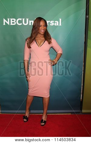 LOS ANGELES - JAN 14:  Charrisse Jackson Jordan at the NBCUniversal Cable TCA Press Day Winter 2016 at the Langham Huntington Hotel on January 14, 2016 in Pasadena, CA