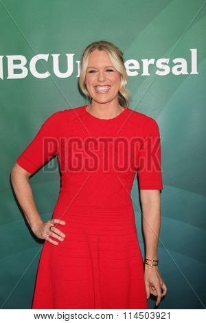 LOS ANGELES - JAN 14:  Jessica St. Clair at the NBCUniversal Cable TCA Press Day Winter 2016 at the Langham Huntington Hotel on January 14, 2016 in Pasadena, CA