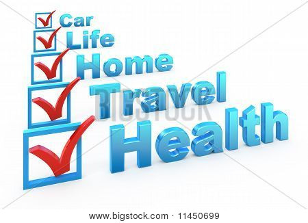 Lista de verificación de seguro