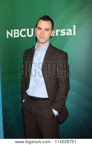 LOS ANGELES - JAN 14:  Joe Moravsky at the NBCUniversal Cable TCA Press Day Winter 2016 at the Langham Huntington Hotel on January 14, 2016 in Pasadena, CA