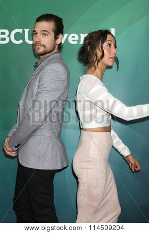 LOS ANGELES - JAN 14:  Jason Ralph, Stella Maeve at the NBCUniversal Cable TCA Press Day Winter 2016 at the Langham Huntington Hotel on January 14, 2016 in Pasadena, CA