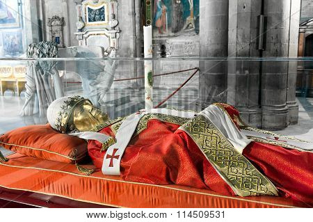 The Effigy Of Pope Gregory X