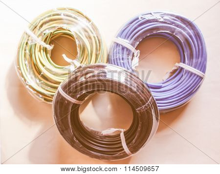 Electrical Wires Vintage