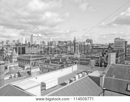Black And White Glasgow