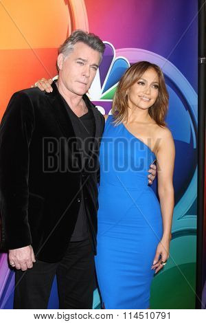 LOS ANGELES - JAN 13:  Ray Liotta, Jennifer Lopez at the NBCUniversal TCA Press Day Winter 2016 at the Langham Huntington Hotel on January 13, 2016 in Pasadena, CA