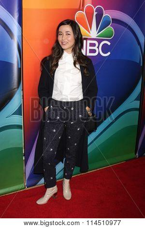 LOS ANGELES - JAN 13:  Maya Erskine at the NBCUniversal TCA Press Day Winter 2016 at the Langham Huntington Hotel on January 13, 2016 in Pasadena, CA