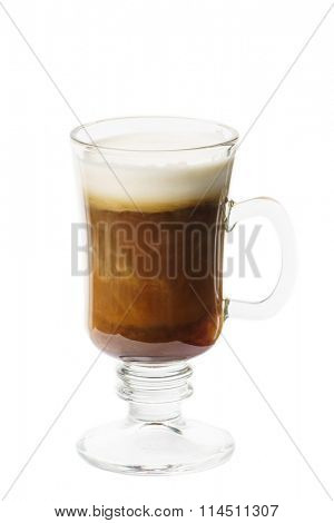 coffee with whipped milk