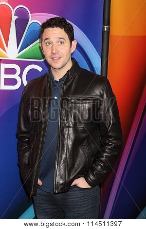 LOS ANGELES - JAN 13:  Santino Fontana at the NBCUniversal TCA Press Day Winter 2016 at the Langham Huntington Hotel on January 13, 2016 in Pasadena, CA