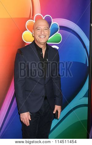 LOS ANGELES - JAN 13:  Howie Mandel at the NBCUniversal TCA Press Day Winter 2016 at the Langham Huntington Hotel on January 13, 2016 in Pasadena, CA