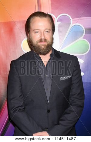LOS ANGELES - JAN 13:  Joshua Leonard at the NBCUniversal TCA Press Day Winter 2016 at the Langham Huntington Hotel on January 13, 2016 in Pasadena, CA