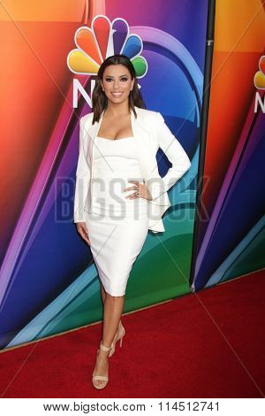 LOS ANGELES - JAN 13:  Eva Longoria at the NBCUniversal TCA Press Day Winter 2016 at the Langham Huntington Hotel on January 13, 2016 in Pasadena, CA