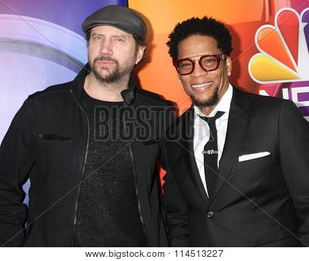 LOS ANGELES - JAN 13:  Jamie Kennedy, D. L. Hughley at the NBCUniversal TCA Press Day Winter 2016  at the Langham Huntington Hotel on January 13, 2016 in Pasadena, CA