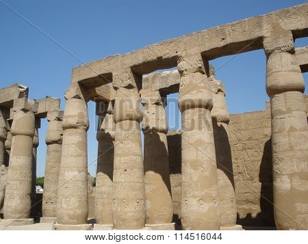 Luxor Temple -- The Ruins Of The Central Temple Of Amun-ra
