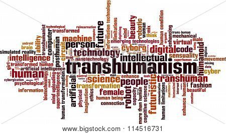 Transhumanism Word Cloud