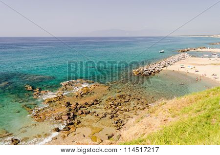 Beach Of Pizzo, Calabria, Italy