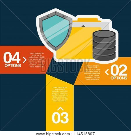 hosting infographic design