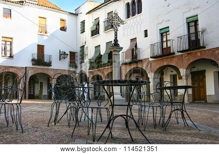 Small Square Of Zafra, Badajoz, Spain