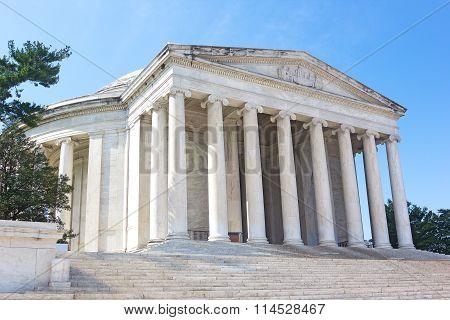 Thomas Jefferson Memorial in Washington DC USA.