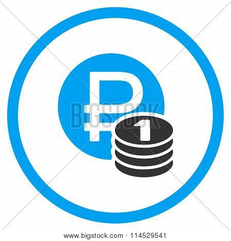 Rouble Coins Icon