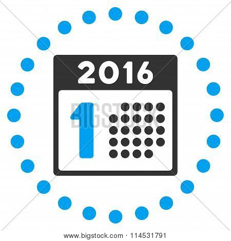 First 2016 Date Icon