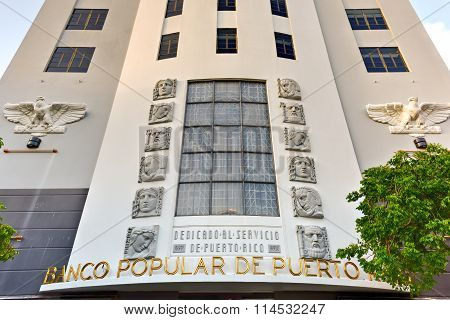Banco Popular - San Juan, Puerto Rico