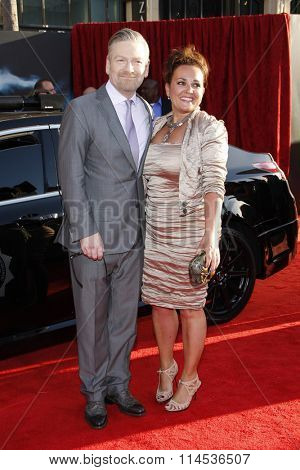 Kenneth Branagh Lindsay Brunnock at the Los Angeles Premiere of