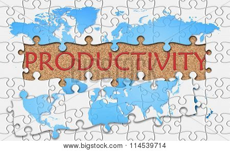 Jigsaw Puzzle Reveal  Word Productivity