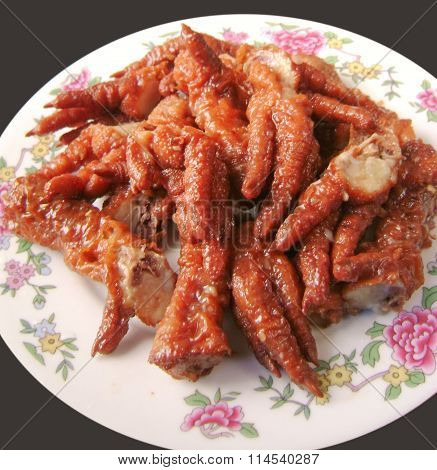 Asian Chinese Cantonese food chicken feet