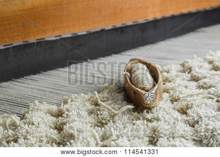 Wooden Weaving Loom Tool