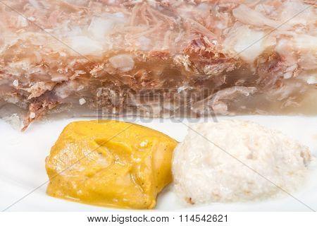 Mustard And Horseradish - Seasonings For Aspic