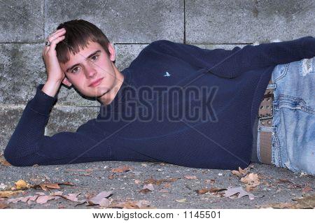Senior Relaxing