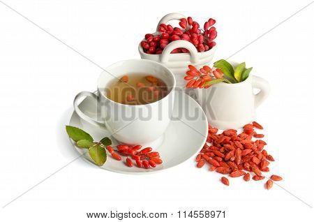 Presentation For Goji Fresh Antioxidant Tea