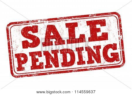 Sale Pending Stamp