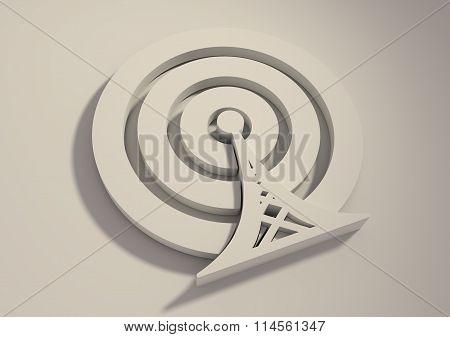 Wi Fi Wireless Network Symbol