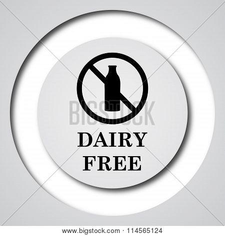 Dairy Free Icon