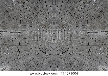Wood Textured. Old Stub
