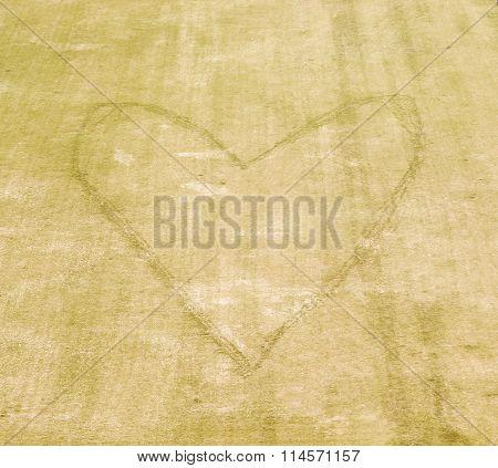 Heart Picture Vintage
