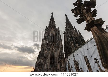 Germany, Cologne, The Famous Cathedral (kolner Dom)
