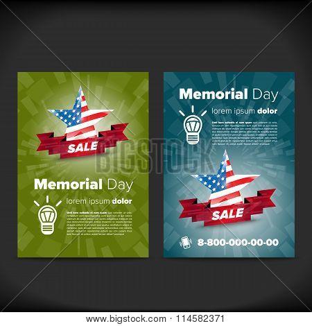 Memorial day flayer
