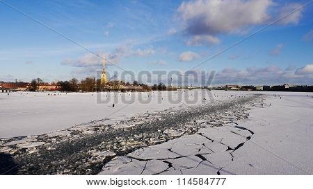 St. Petersburg in the winter