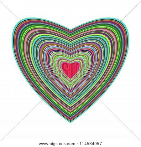 Big Beautiful Colorful Heart