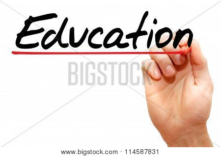 Hand Writing Education
