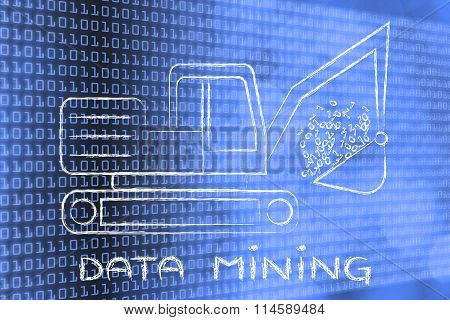 Data Mining: Funny Digger Extracting Binary Code