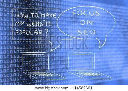 How To Make My Website Popular? Focus On Seo