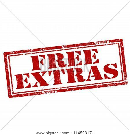 Free Extras-stamp